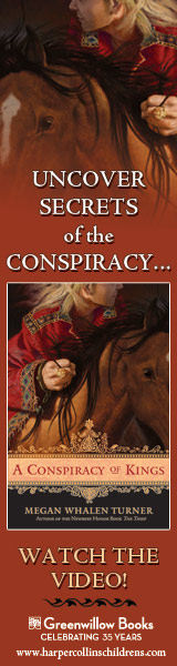 Greenwillow Books: A Conspiracy of Kings by Megan Whalen Turner