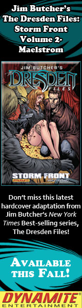 Dynamite Entertainment: Dresden Files: Storm Front by Jim Butcher with Mark Powers, Penciller/Inkers Ardian Syaf and Brett Booth