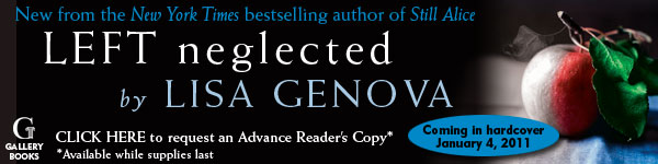 Gallery Books: Left Neglected by Lisa Genova
